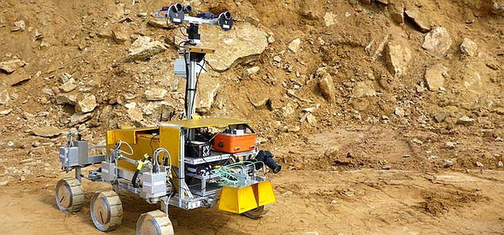 ExoMars-Rover der Mission 2018