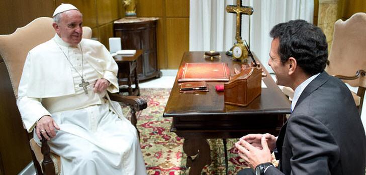 capriles-papstfranziskus