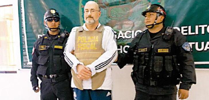 Peru Einer Der Meist Gesuchten Männer Der Welt Festgenommen