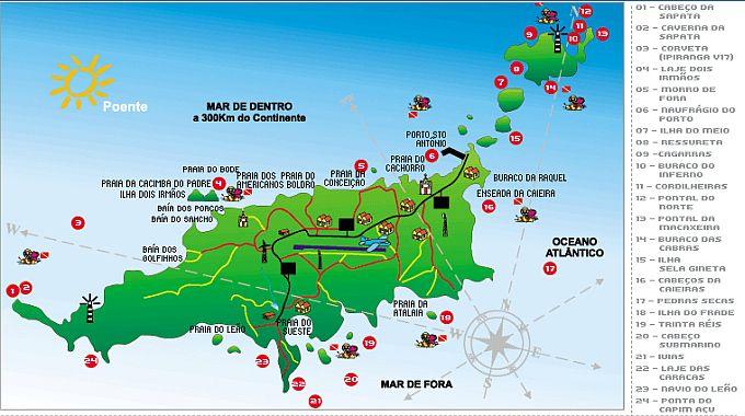 mapa-mergulho