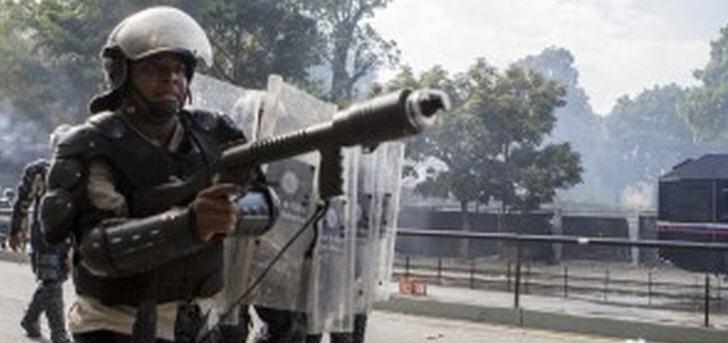 venezuela-polizei