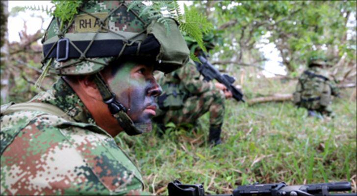 kolumbiern-militär