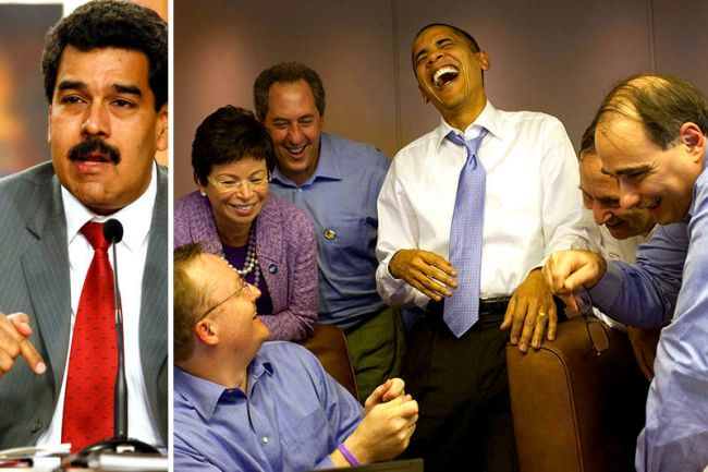 Maduro-Vs-Obama