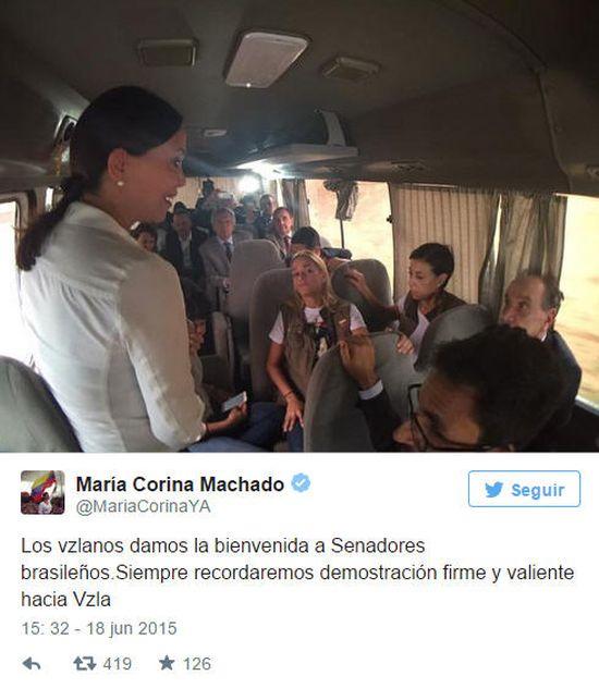 machado-flughafen-venezuela-bedrohung-regierungsmob-maduro-diktatur