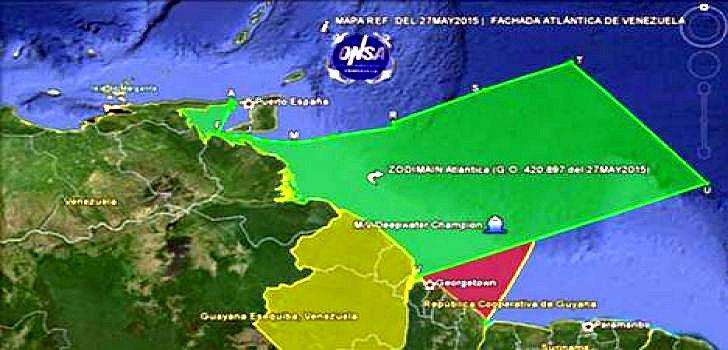 venezuela--grenze-guyana
