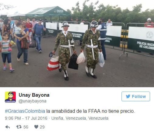hunger-polizei-kolumbien-venezuela-hungersnot