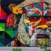 Brasilien: Guinness Weltrekord für Rekord-Graffiti in Rio de Janeiro