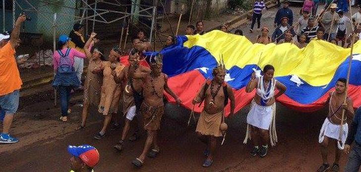marsch-indigene-venezuela-caracas-madburo