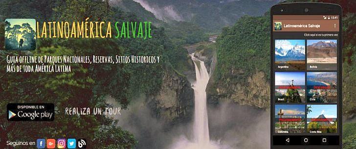 """Mit """"Latinoamérica Salvaje"""" gibt es eine kostenlose Android-App für Handy und Tablet"""