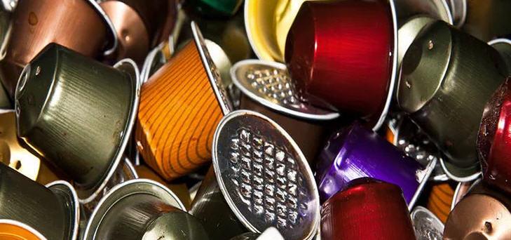 Für Kaffeekapseln wird Aluminium verschwendet
