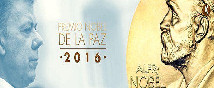 Im Zusammenhang mit seinen Bemühungen um den Friedensprozess in Kolumbien wurde Santos der Friedensnobelpreis für das Jahr 2016 zuerkannt