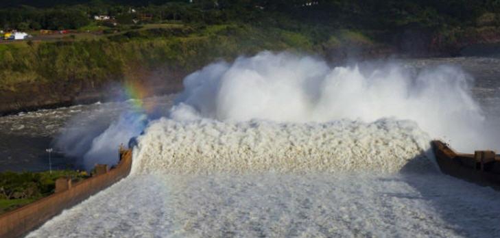 Das Kraftwerk ist ein Gemeinschaftsprojekt Paraguays und Brasiliens