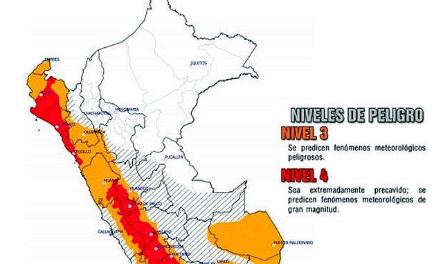 Peru: 72 Tote bei Erdrutschen und Überschwemmungen