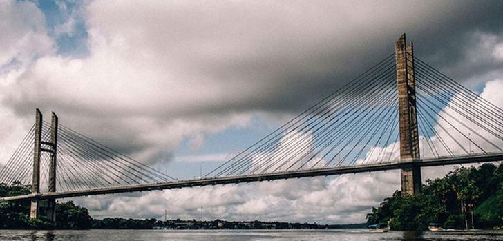 Die rund siebzig Millionen Reais (1 US-Dollar = 3,0918 Reais) Brücke ist bereits seit Mitte 2011 fertiggestellt