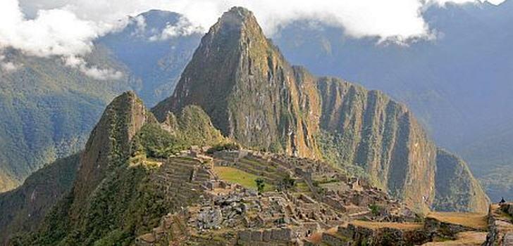 Weltberühmte Inka-Zitadelle Machu Picchu