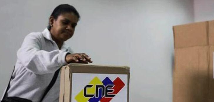 Massive Wahlenthaltung in Venezuela