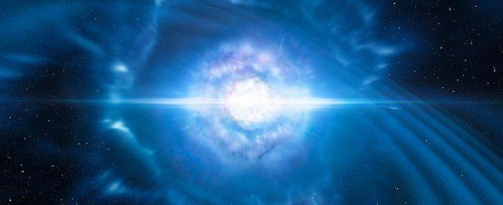 Erstes Licht einer Gravitationswellen-Quelle entdeckt