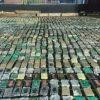 Kolumbien – Spanien: Über zwei Tonnen Kokain beschlagnahmt