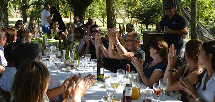 In Uruguay nehmen die Regionen Canelones, Colonia, Maldonado, Montevideo und San José am Tag des Weines teil