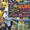 Präsidentschaftswahl Brasilien: Hunderttausende auf den Straßen