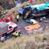 Mindestens 19 Tote bei Busunglück in Bolivien