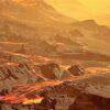 Nahe und glühend heiße Super-Erde entdeckt